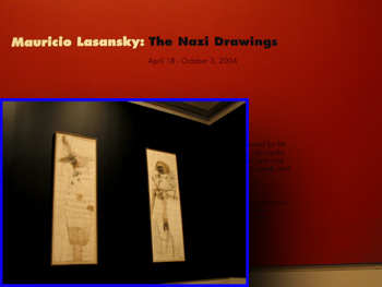 Cedar Rapids Exhibit of The Nazi Drawings