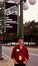 Wyrick at Hot Springs Documentary Film Festival