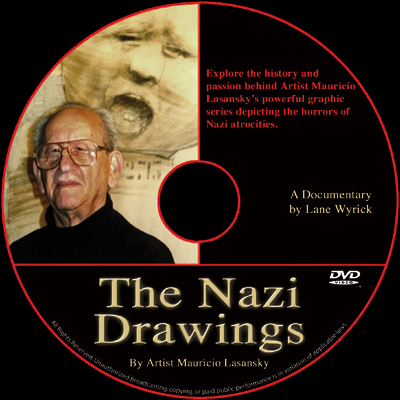 The Nazi Drawings DVD disc